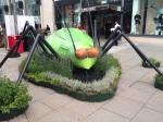 Bug statue